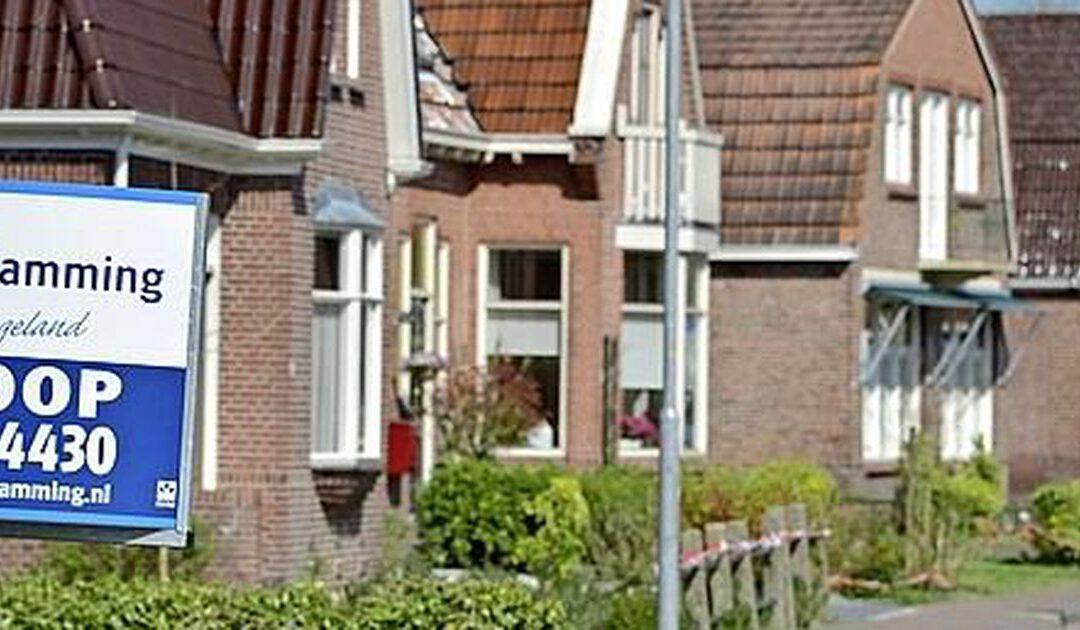Groningse huizenprijzen stijgen het hardst