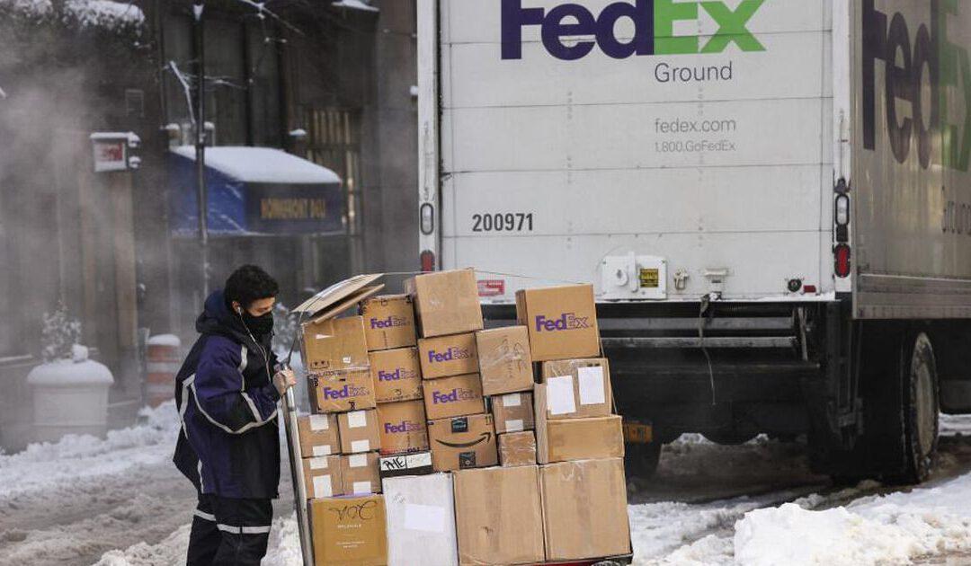 Omzet van pakkettenreus FedEx knalt omhoog