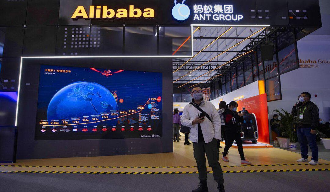 Alibaba-dochter moet stoppen met leningen en vermogensbeheer