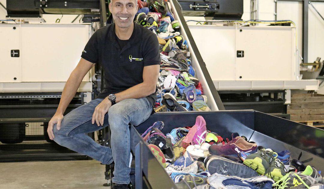 Oude sportschoenen uit heel Europa in nieuw jasje steken