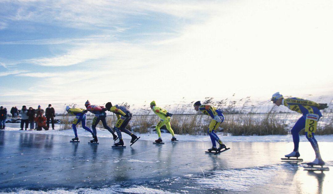 Column: Eenzame schaatstocht voorgoed verleden tijd
