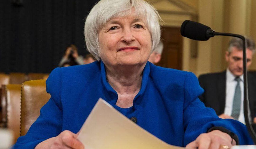 'Speeches leverden voormalig Fed-baas Yellen miljoenen op'
