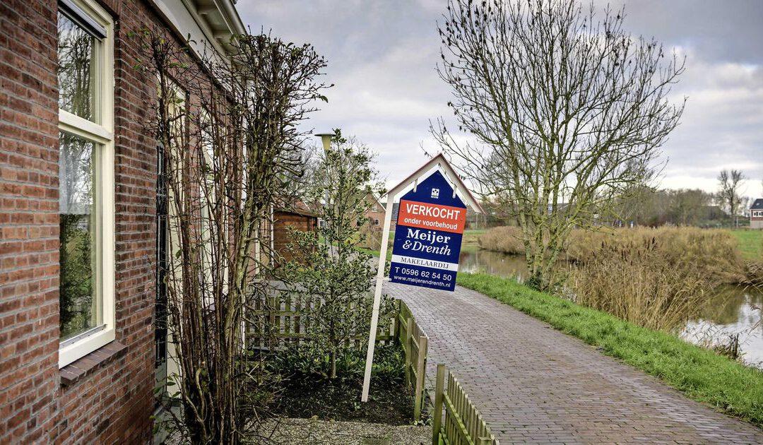 Niets boven Groningen op de woningmarkt