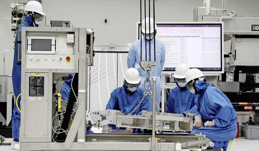 AEX-vlaggenschip ASML groeit uit tot waardevolste techbedrijf in Europa