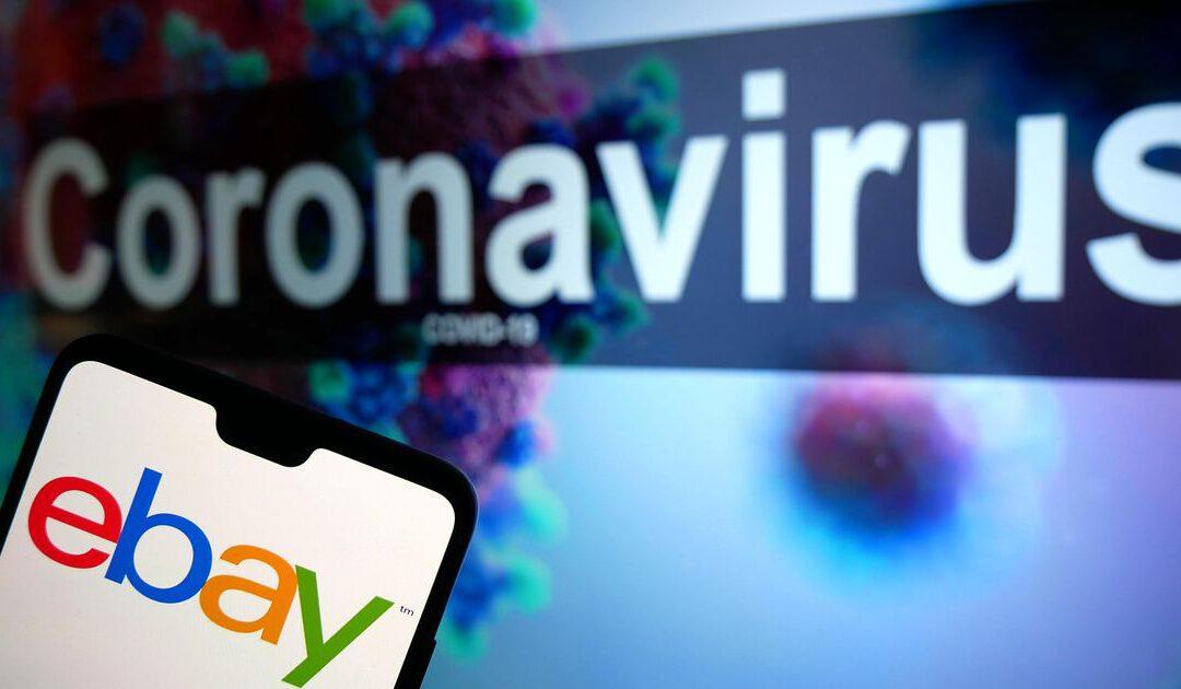 Online marktplaats eBay blijft profiteren van corona