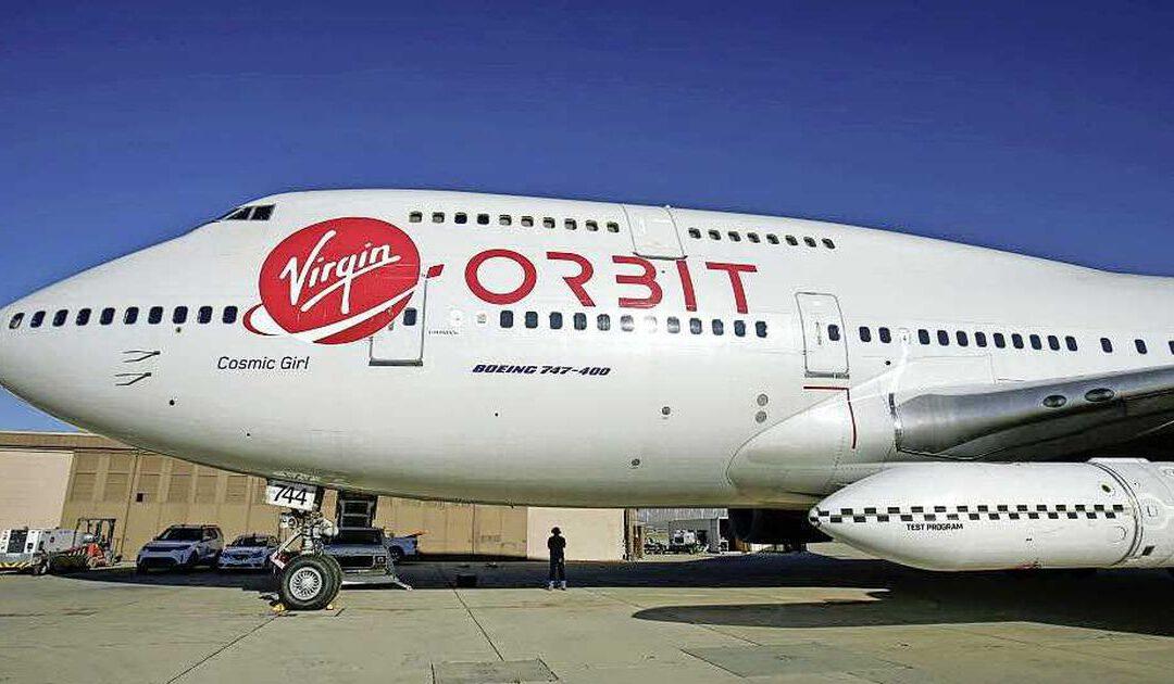 'Richard Branson met ruimtevaartbedrijf Virgin Orbit naar beurs'