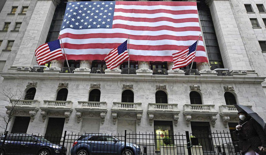 Records op opgewekt Wall Street