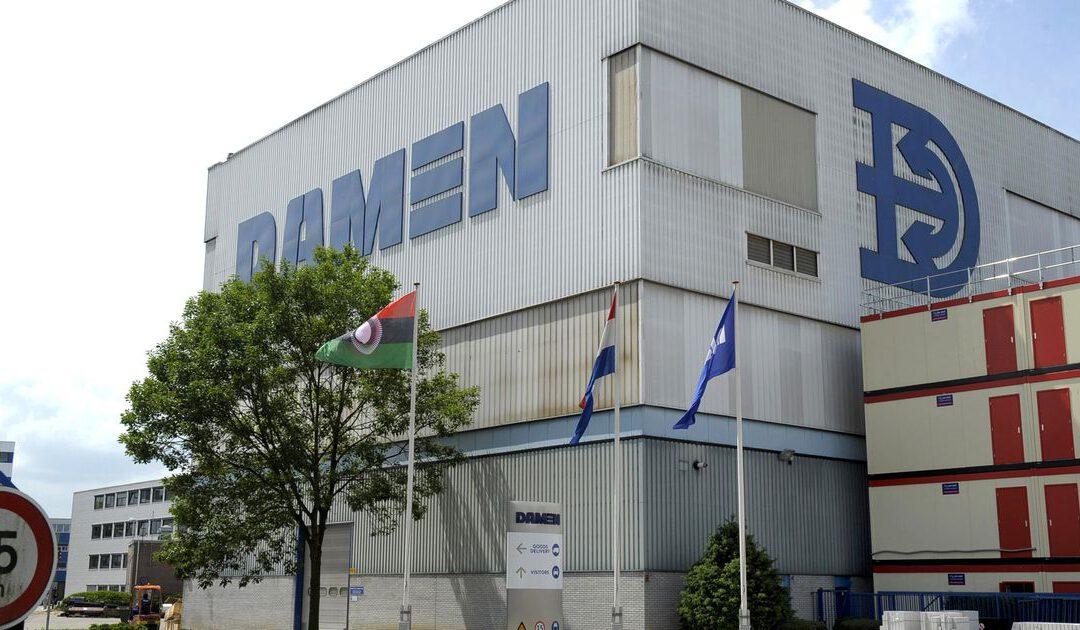 Estafettestaking metaal krijgt vervolg bij Damen en Fokker