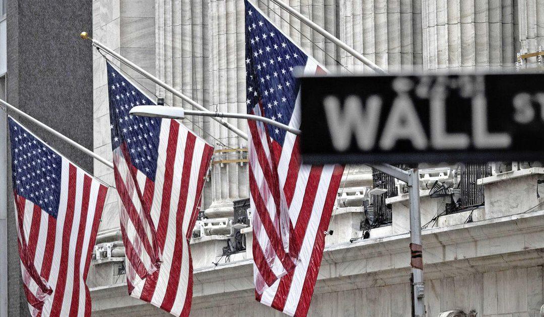 Beurzen VS hard omlaag na toespraak Powell