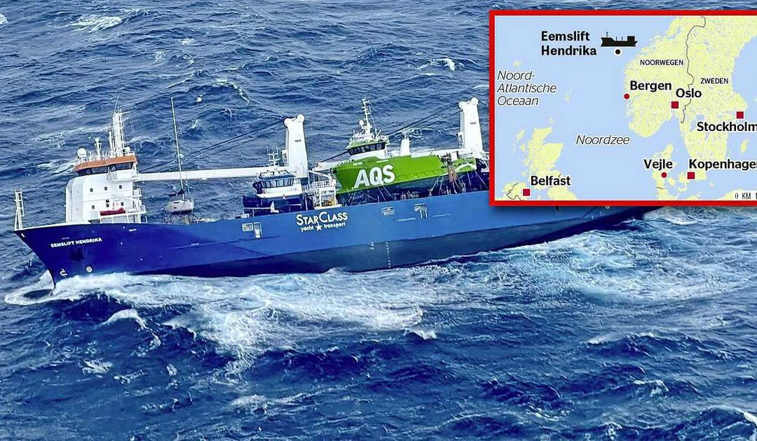 Nederlands schip bij Noorwegen kan gesleept worden