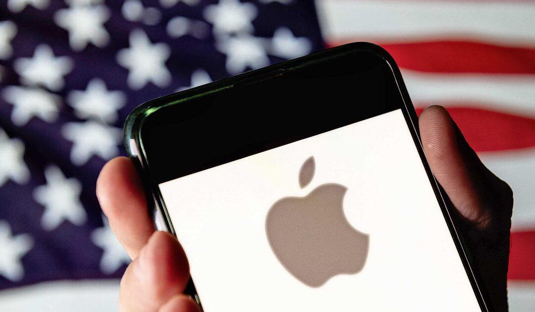 Apple valt in de smaak met sterke omzetgroei bij iPhones