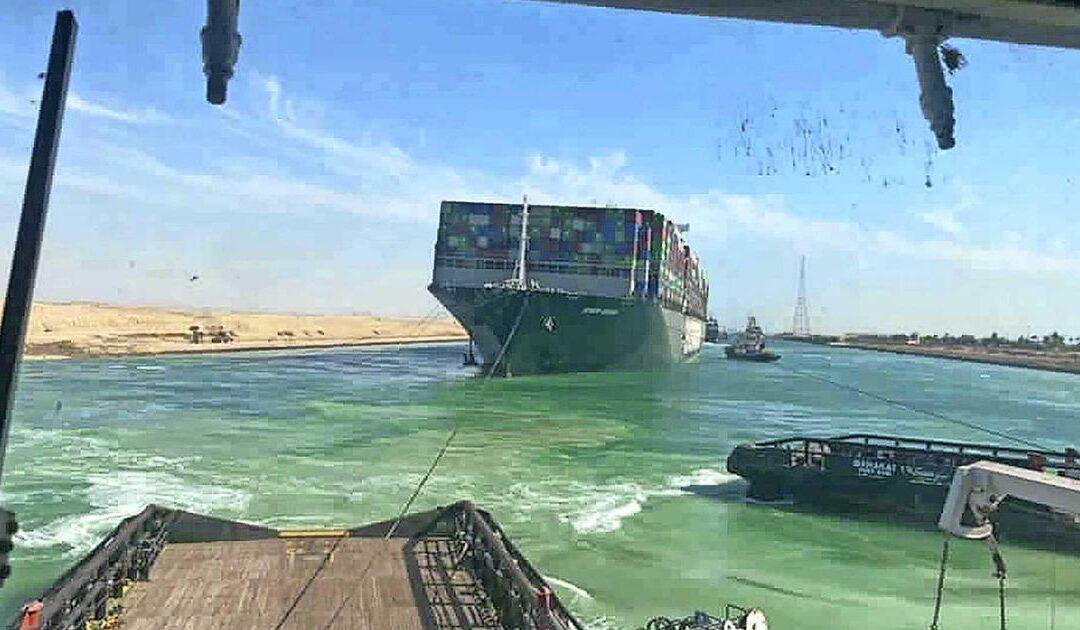 Gevecht om vergoeding miljoenen barst los in nasleep Suezblokkade