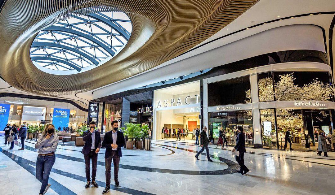 Mall of the Netherlands lichtpuntje voor Unibail