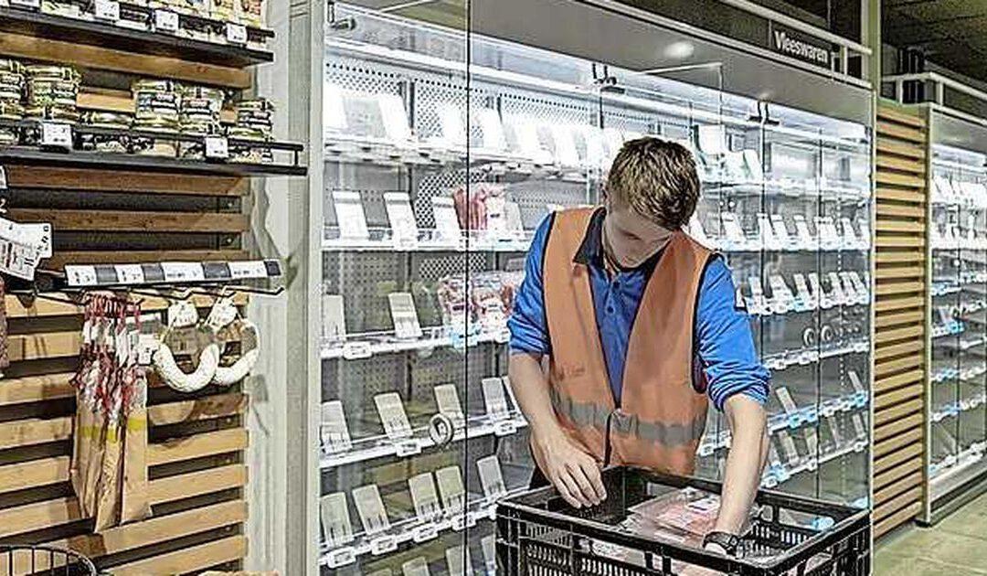 FNV voert stakingen in supermarkten op voor nieuwe cao