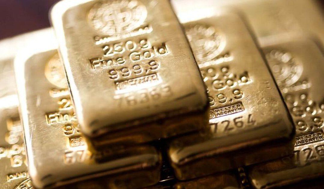 Goudprijs naar hoogste punt sinds januari