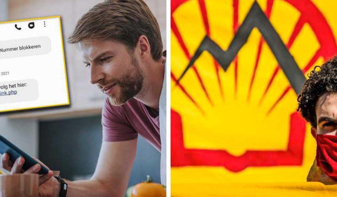 Waarschuwing nep-app zet tik op vingers Shell in schaduw