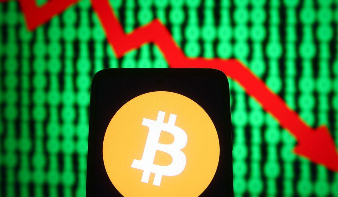 Bitcoin zakt weer hard weg in turbulente week