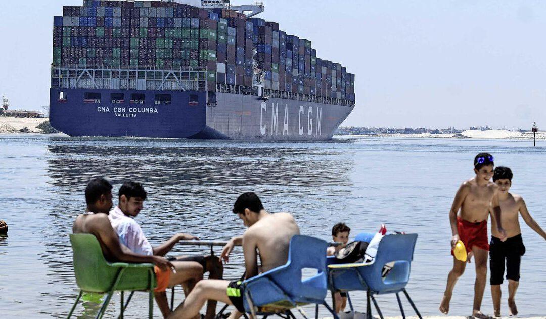Blokkeerschip Suezkanaal wordt woensdag vrijgegeven