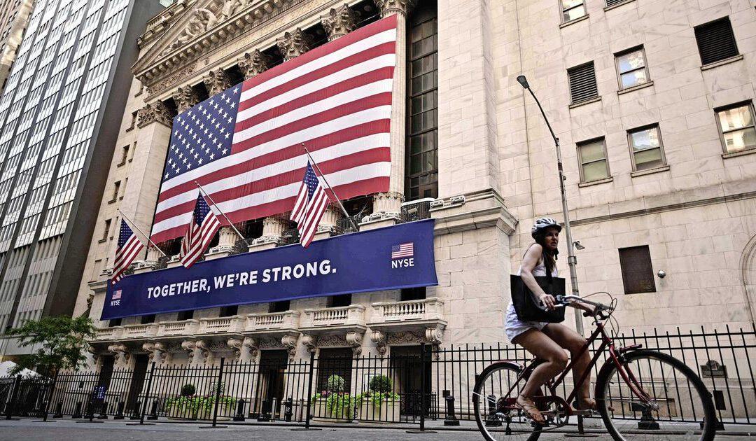 Wall Street begint licht hoger aan nieuwe week