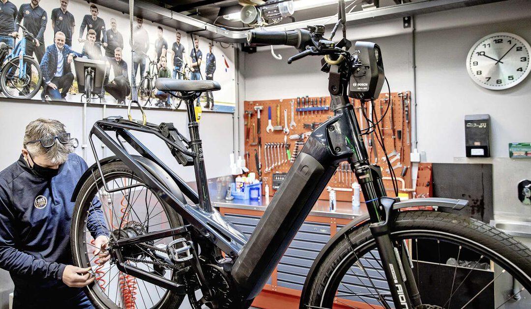 'In 2025 helft alle fietsen Europa op batterij'