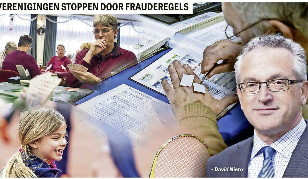 'Nieuwe frauderegels maken ons verenigingsleven stuk'