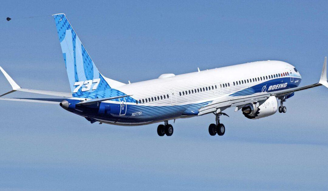 Boeing 737 MAX maakt zich op voor eerste Chinese testvlucht
