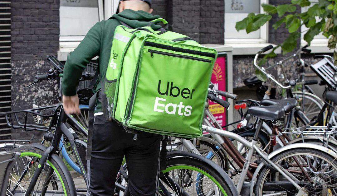 Uber verliest op rijden, wint op bezorgen