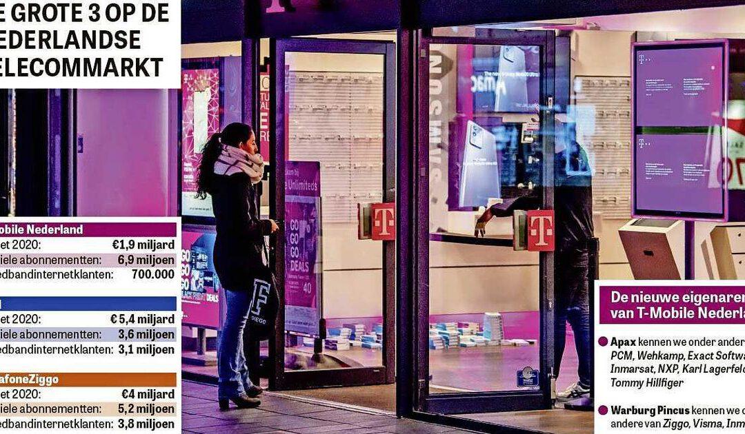 T-Mobile zoekt na overname weer het gevecht