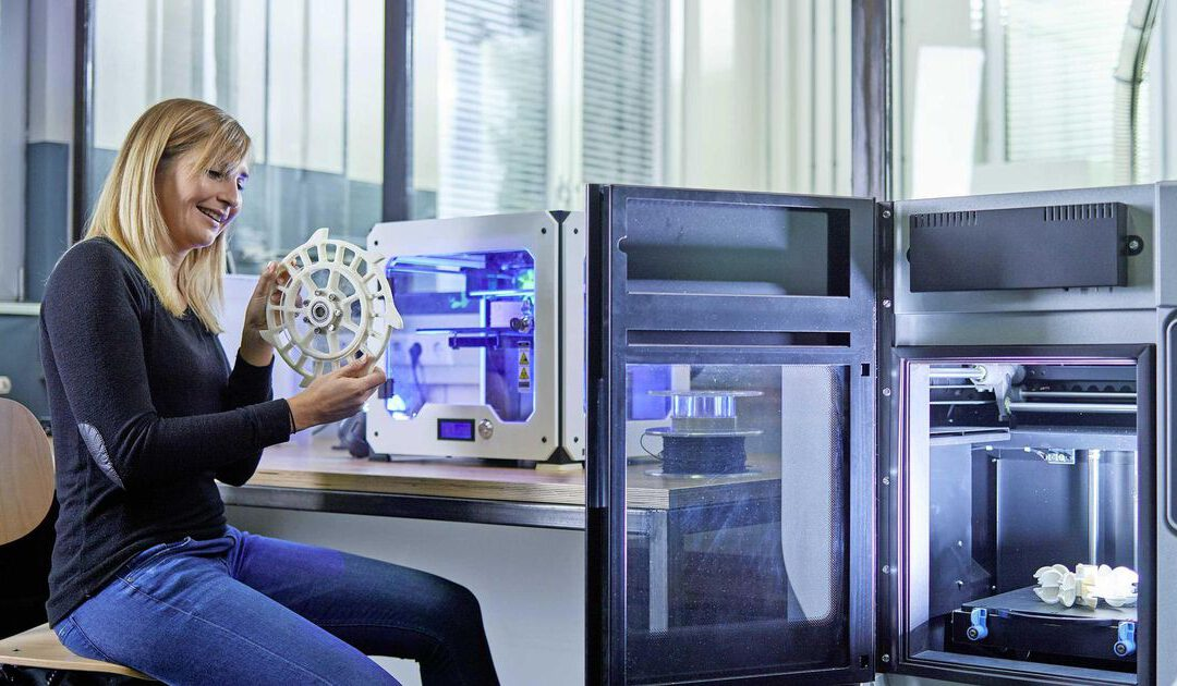 Column: gaat de 3D printer de container verdringen?