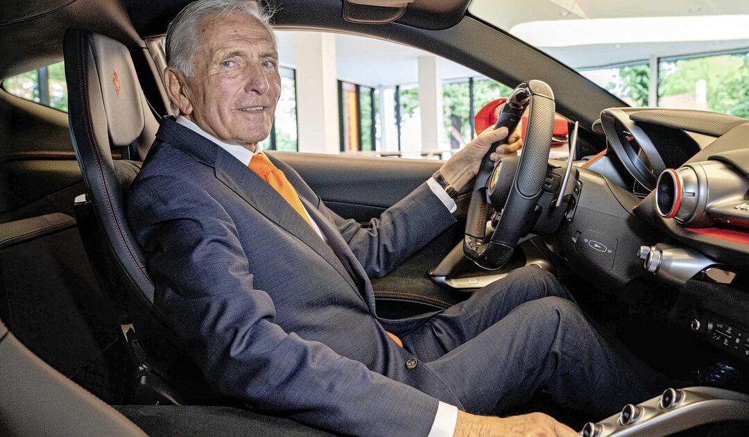 'Mister Ferrari' neemt stuur over bij leaseauto om versnelling groei