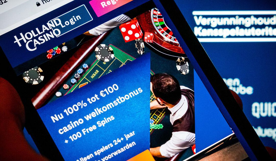Holland Casino start online gokken 'mondjesmaat' op